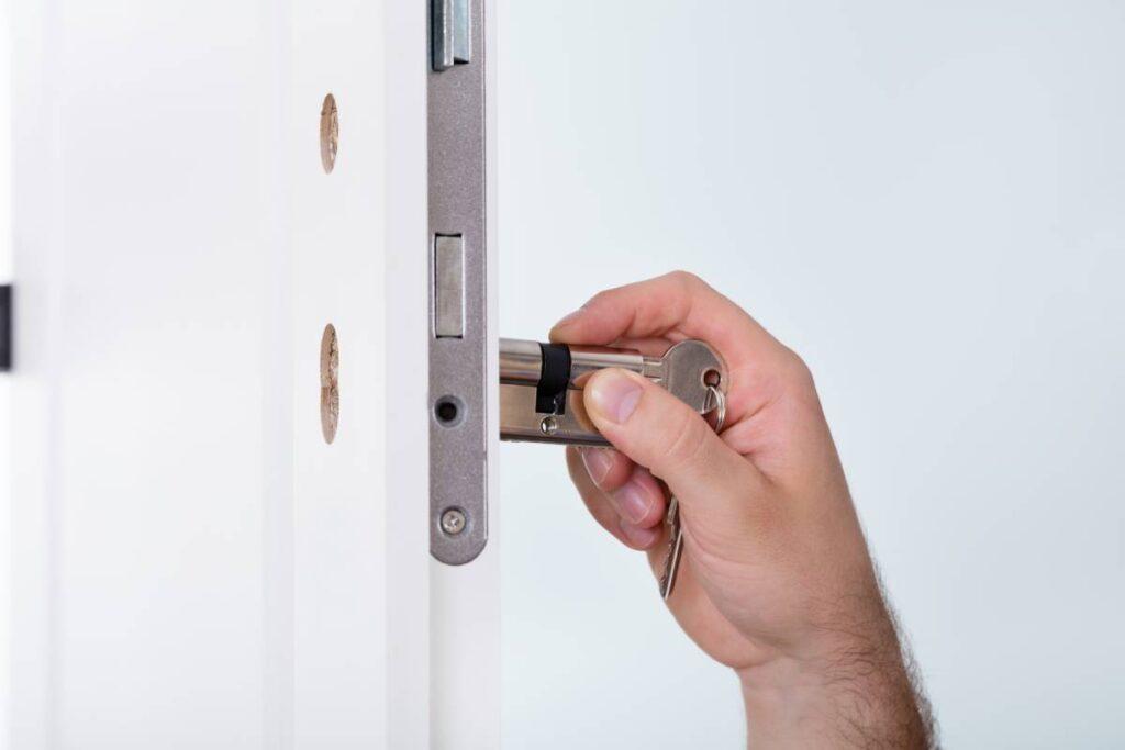 High Security Lock Installation